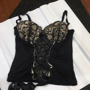 Frederick's of Hollywood bustier med